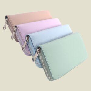 Roos - Cadeaus - Grof Lederen portemonnee